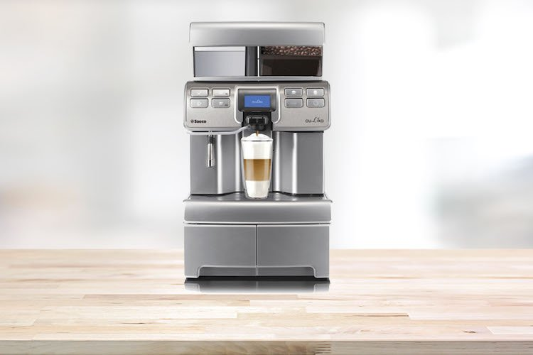 Saeco Aulika Top - Bean to Cup office coffee machine with fresh milk