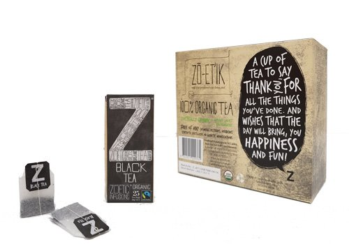 ZOETIC BLACK TEA ORGANIC & FAIRTRADE